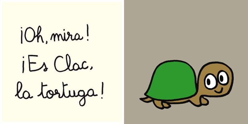 Clac, la tortuga